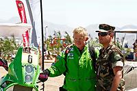 MOTORSPORT - DAKAR ARGENTINA CHILE PERU 2012 - STAGE 6 - FIAMBALA (ARG) TO COPIAPO (CHI) - 06/01/2012 - PHOTO:  FREDERIC LE FLOCH / DPPI<br /> ULLEVALSETER PAL ANDERS (NOR) KTM 450 R - AMBIANCE PORTRAIT