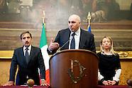 Consultations: Fratelli d'Italia press conference