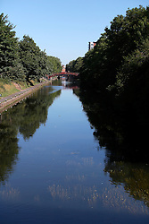 UK ENGLAND LEICESTER 30JUN15 - The river Soar at Leicester city.<br /> <br /> jre/Photo by Jiri Rezac / WWF UK<br /> <br /> &copy; Jiri Rezac 2015