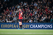 Jean Kleyn (Munster Rugby) scored a try during the European Rugby Champions Cup, Pool 4, Rugby Union match between Racing 92 and Munster Rugby on January 14, 2018 at U Arena stadium in Nanterre, France - Photo Stephane Allaman / ProSportsImages / DPPI