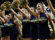 SOUTH BEND, IN - JANUARY 21: Notre Dame Fighting Irish dancers are seen during the game against the Syracuse Orange at Purcell Pavilion on January 21, 2017 in South Bend, Indiana.  (Photo by Michael Hickey/Getty Images)