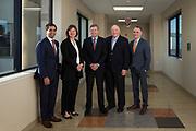 Good Samaritan Hospital C-Suite executives pose for a group portrait at Good Samaritan Hospital in San Jose, California, on March 30, 2017. (Stan Olszewski/SOSKIphoto)