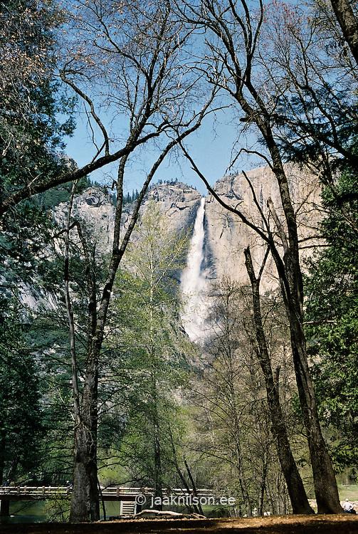 Upper Waterfall, Yosemite National Park, California, USA