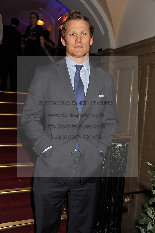 English rugby international JOSH LEWSEY at the Butterfly Ball in aid of the charity SANDS held at the Porchester Hall, Queensway, London W2 on 19th April 2012.