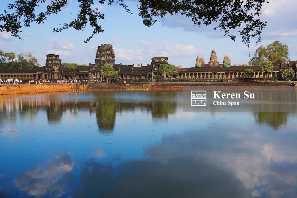 Angkor Wat and Srah Srang, Pool of Ablutions, Cambodia