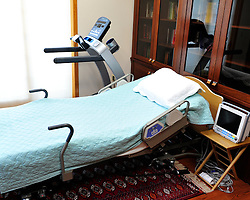 The personal living space of exiled Turkish cleric and muslim imam Fethullah Gulen at his Pocono Mountain compound Sunday, July 17, 2016 in Saylorsburg, Pa.