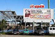 Pete Tong's plays the Wonderland opening, Ibiza.