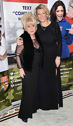 Barbara Windsor and Gillian Taylforth attend The Care After Combat Inaugural Ball at The Dorchester Hotel, Park Lane, London on the Tuesday 31st March 2015