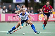 UTRECHT -  Maria Lopez Garcia (Kampong) tijdens de hockey hoofdklasse competitiewedstrijd dames:  Kampong-Laren (2-2). COPYRIGHT KOEN SUYK