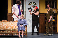 """Middletown, New York - The SUNY Orange Apprentice Players perform during a rehearsal of """"Food for the Dead""""  by Josephina Lopez at Orange Hall Theatre on the College's Middletown campus on April 13, 2016."""