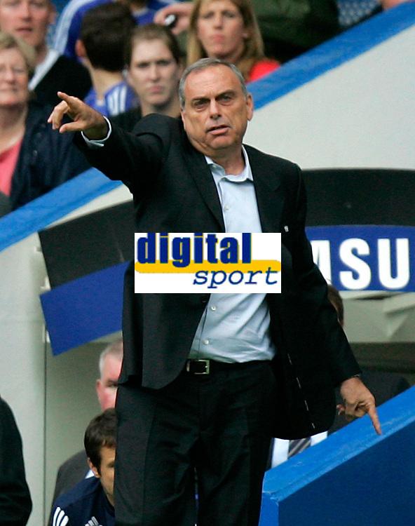 Chelsea v Fulham. Barclays Premier League. 29/09/2007. New manager of Chelsea Avram Grant