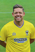 AFC Wimbledon Goalkeeping Coach Ashley Bayes at AFC Wimbledon Team Photo 02AUG16 at the Cherry Red Records Stadium, Kingston, England on 2 August 2016. Photo by Stuart Butcher.