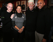 Timothy GreenField-Sanders and  Debra Lee and Ken Bercher and Brickson Diamond at The Black House during the 2008 Sundance Film Festival. ..HISTORY..The Blackhouse Foundation was created in 2007 by a group of dedicated individuals interested in black cinema - preserving and furthering its legacy. Black House works to provide a platform for African American filmmakers to use their voice to tell stories by and about African Americans in the world of independent and feature films...Black filmmakers made history in 2007, the year The Blackhouse Foundation launched the Blackhouse® venue at the 2007 Sundance Film Festival.  Blackhouse® played host to over 150 daily visitors with more than 1,200 people visiting the venue throughout the festival.  Blackhouse® was open to the public throughout the day, hosted workshops, a legendary nightly cocktail hour, a marquee party for Our Stories Films, LLC and launched a landmark fellows program for young, aspiring filmmakers.  ..MISSION..The mission of the Blackhouse Foundation is to expand opportunities for Black filmmakers by providing a physical venue for our constituents at the world's most prominent film festivals and creating a nucleus for continuing support, community, education and knowledge.  .