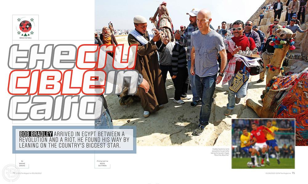Bob Bradley in Cairo for ESPN The Magazine