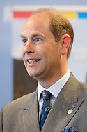 THE HAGUE - Prince Edward, Earl of Wessex, attend the Golden Award ceremony of the International Award for Young People at press center Nieuwspoort in The Hague, The Netherlands, 21 May 2015. COPYRIGHT ROBIN UTRECHT <br /> DEN HAAG - Prins Edward reikt Gouden Awards uit Prins Edward bekijkt exposities van deelnemers voorafgaand aan de uitreiking van de Gouden Awards door de organisatie International Award for Young People The Netherlands, een talentontwikkelingsprogramma. COPYRIGHT ROBIN UTRECHT