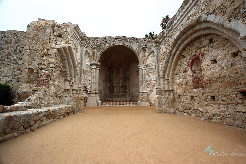 Mission at  San Juan Capistrano