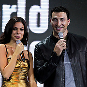 MON/Monte Carlo/20100512 - World Music Awards 2010, Moran Atias en Wladimir Klitshko