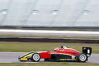 #6 Krishnaraaj MAHADIK (IND)  Chris Dittmann Racing  Tatuus-Cosworth  BRDC British F3 Championship at Rockingham, Corby, Northamptonshire, United Kingdom. April 30 2016. World Copyright Peter Taylor/PSP.