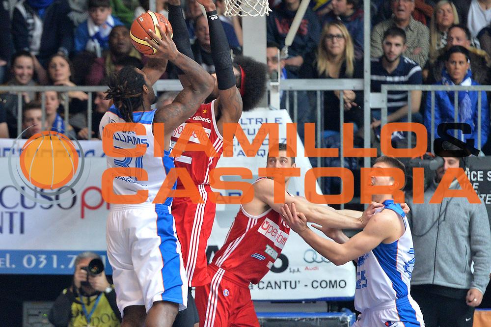 DESCRIZIONE : Cant&ugrave; Lega A 2014-15  Acqua Vitasnella Cant&ugrave; vs Openjobmetis Varese<br /> GIOCATORE : Eric Williams<br /> CATEGORIA : Tiro Controcampo<br /> SQUADRA : Openjobmetis Varese<br /> EVENTO : Campionato Lega A 2014-2015<br /> GARA : Acqua Vitasnella Cant&ugrave; vs Openjobmetis Varese<br /> DATA : 26/01/2015<br /> SPORT : Pallacanestro <br /> AUTORE : Agenzia Ciamillo-Castoria/I.Mancini<br /> Galleria : Lega Basket A 2014-2015  <br /> Fotonotizia : Cant&ugrave; Lega A 2014-2015 Pallacanestro : Acqua Vitasnella Cant&ugrave; vs Openjobmetis Varese<br /> Predefinita :