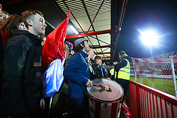 Accrington Stanley fans - Mandatory by-line: Robbie Stephenson/JMP - 17/04/2018 - FOOTBALL - Wham Stadium - Accrington, England - Accrington Stanley v Yeovil Town - Sky Bet League Two