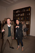 GRAHAM SOUTHERN; RACHEL HOWARD, Francesco Clemente Private view,  Emblems of Transformation. Blain Southern. London. 28 April 2015