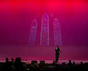 Jeames Graham performs at the Roc Awards at the Kodak Theater on Sunday, February 15, 2015.