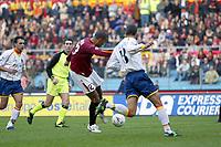 Roma 30/11/2003 <br />Roma Lecce 3-1<br />John Carew segna il gol del 2-0 per la Roma<br />John Carew scores goal of 2-0 for AS Roma<br />Foto Andrea Staccioli Graffiti