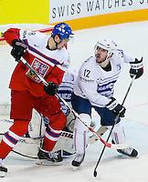 Valentin Claireaux - 07.05.2015 - Republique Tcheque / France - Championnat du Monde de Hockey sur Glace <br /> Photo : Xavier Laine / Icon Sport