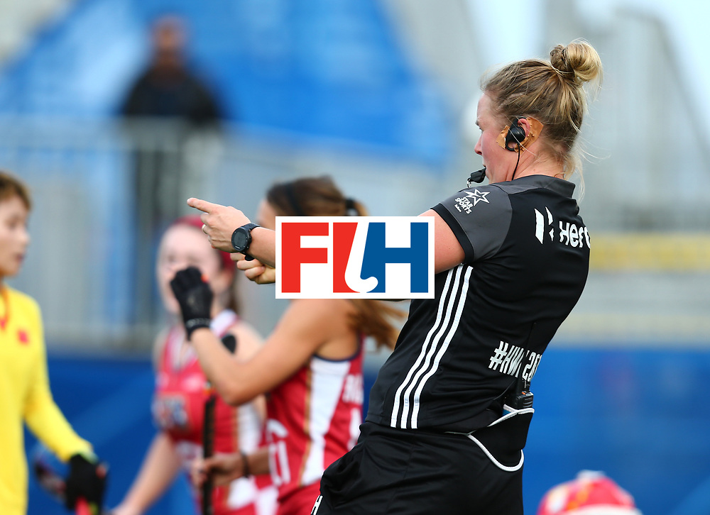 New Zealand, Auckland - 25/11/17  <br /> Sentinel Homes Women&rsquo;s Hockey World League Final<br /> Harbour Hockey Stadium<br /> Copyrigth: Worldsportpics, Rodrigo Jaramillo<br /> Match ID: 10309 - USA vs CHN<br /> Photo: