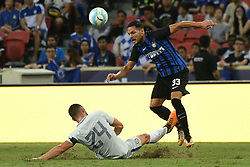 2017?7?29?.??????——????????????????..7?29?????????Danilo D'Ambrosio????????????Gary Cahill????????.???? ??????..Inter Milan's player Danilo D'Ambrosio (R) competes with Chelsea's player Gary Cahill (L) during the International Champions Cup match between Inter Milan and Chelsea held in Singapore's National Stadium on Jul 29, 2017..By Xinhua, Then Chih Wey..????????????2017?7?29? (Credit Image: © Then Chih Wey/Xinhua via ZUMA Wire)