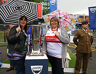 Fan Pictures of  of Hull FC  and Hull KR fans before there match against St Helens during the Betfred Super League match at the Dacia Magic Weekend at St. James's Park, Newcastle<br /> Picture by Stephen Gaunt/Focus Images Ltd +447904 833202<br /> 20/05/2017