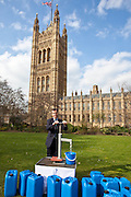 Andrew Selous MP. Marking World Water Day, over 40 MP's walked for water at Westminster, London at an event organised by WaterAid and Tearfund. Globally hundreds of thousands of people took part in the campaign to raise awareness of the world water crisis.