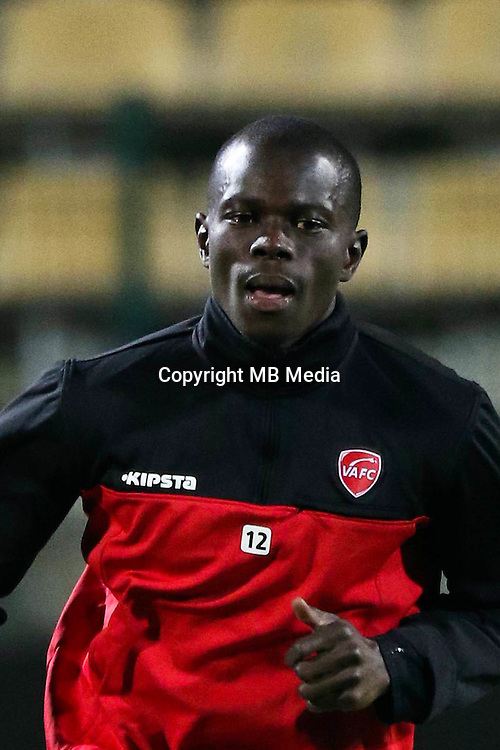 Mouhamadou Ndao of Valenciennes during the Ligue 2 match between Tours and Valenciennes on October 21, 2016 in Tours, France. (Photo by Eddy Lemaistre/Icon Sport)
