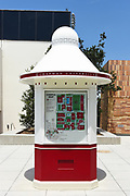 Map and Information Kiosk on Campus of Chapman University