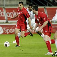 Fotball, Uefa cup, 15 September 2005, Brann - Lokomotiv Moskva, resultat 1-2, Paul Scharner, Brann.