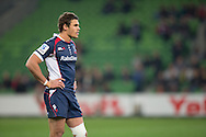 Tom English (Rebels) during the Round 14 match of the 2013 Super Rugby Championship between RaboDirect Rebels vs DHL Stormers at AAMI Park, Melbourne, Victoria, Australia. 17/05/0213. Photo By Lucas Wroe