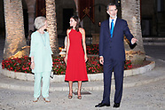 080719 Spanish Royals Host A Dinner For Authorities In Palma De Mallorca