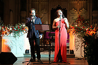 Alfie Boe performs with Danielle de Niese during the Nordoff Robbins Carol Service 2019, St Luke's Church, Chelsea, London, UK, Tuesday 10 December 2019<br /> Photo JM Enternational
