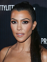 Kourtney Kardashian arrives at the PrettyLittleThing By Kourtney Kardashian Launch held at Poppy on October 25, 2017 in West Hollywood, California. 25 Oct 2017 Pictured: Kourtney Kardashian. Photo credit: IPA/MEGA TheMegaAgency.com +1 888 505 6342
