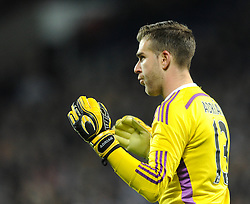 West Ham's Adrian - Photo mandatory by-line: Dougie Allward/JMP - Mobile: 07966 386802 - 02/12/2014 - SPORT - Football - West Bromwich - The Hawthorns - West Bromwich Albion v West Ham United - Barclays Premier League