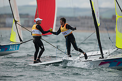 2012 Olympic Games London / Weymouth<br /> 49er racing course