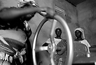 The village women's group &quot;Manegr&eacute;&quot; makes Karit&eacute; butter for the production of soap. The sale of soap and other artisan products brings supplimentary revenue to households.<br /> Tanlili, Burkina Faso. 03/06/2004<br /> Photo &copy; J.B. Russell