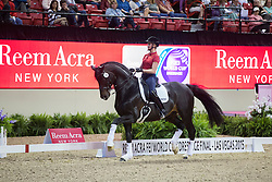 Von Bredow-Werndl Jessica, (GER), Unee BB <br /> Training session<br /> Reem Acra FEI World Cup™ Dressage Finals <br /> Las Vegas 2015<br />  © Hippo Foto - Dirk Caremans<br /> 15/04/15