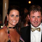 NLD/Utrecht/20070928 - Premiere film Goud over Nederlands dames hockeyelftal, coach Marc Lammers en partner Karin