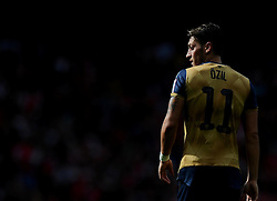 Mesut Ozil of Arsenal  - Mandatory by-line: Joe Meredith/JMP - 25/07/2015 - SPORT - FOOTBALL - London,England - Emirates Stadium - Arsenal v Lyon - Emirates Cup