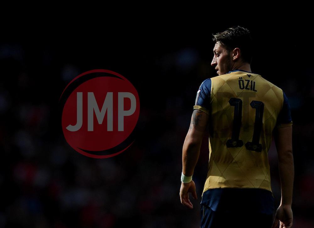 Mesut Ozil of Arsenal  - Mandatory by-line: Joe Meredith/JMP - 25/07/2015 - SPORT - FOOTBALL - London,England - Emirates Stadium - Arsenal v Lyon - Emirates Cup