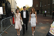 Sheherazade Goldsmith, Zac Goldsmith and Jemima Khan, Ark Gala Dinner, Marlborough House, London. 5 May 2006. ONE TIME USE ONLY - DO NOT ARCHIVE  © Copyright Photograph by Dafydd Jones 66 Stockwell Park Rd. London SW9 0DA Tel 020 7733 0108 www.dafjones.com