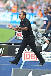 17.09.2011, Olympiastadion Berlin, Berlin, GER, 1.FBL, Hertha BSC Berlin vs FC Augsburg im Bild Jos Luhukay (FC Augsburg Trainer/Coach)  // during the game  Hertha BSC Berlin vs FC Augsburg on 2011/09/17, Olympiastadion Berlin, Berlin, Germany. EXPA Pictures © 2011, PhotoCredit: EXPA/ nph/  Hammes       ****** out of GER / CRO  / BEL ******