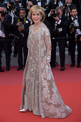 "71st Cannes Film Festival 2018, Red Carpet film ""Blackkklansman"". Pictured: Jane Fonda"