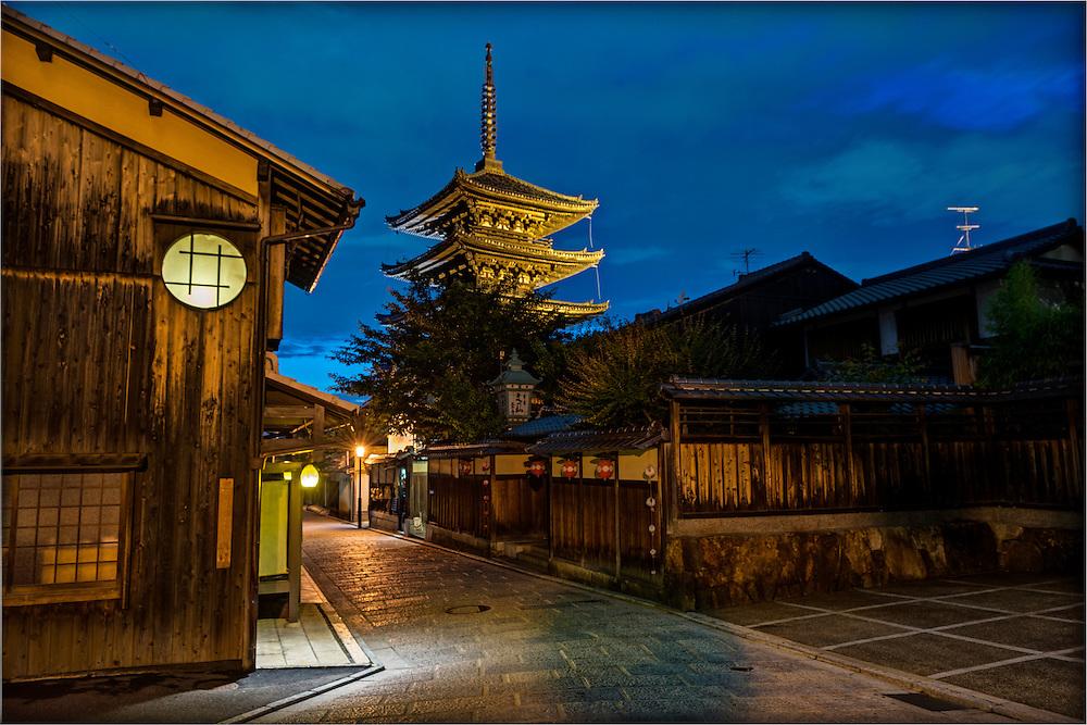 Yasaka Pagoda, Sanneizaka - A Pilgrim's Path, Kyoto, Japan